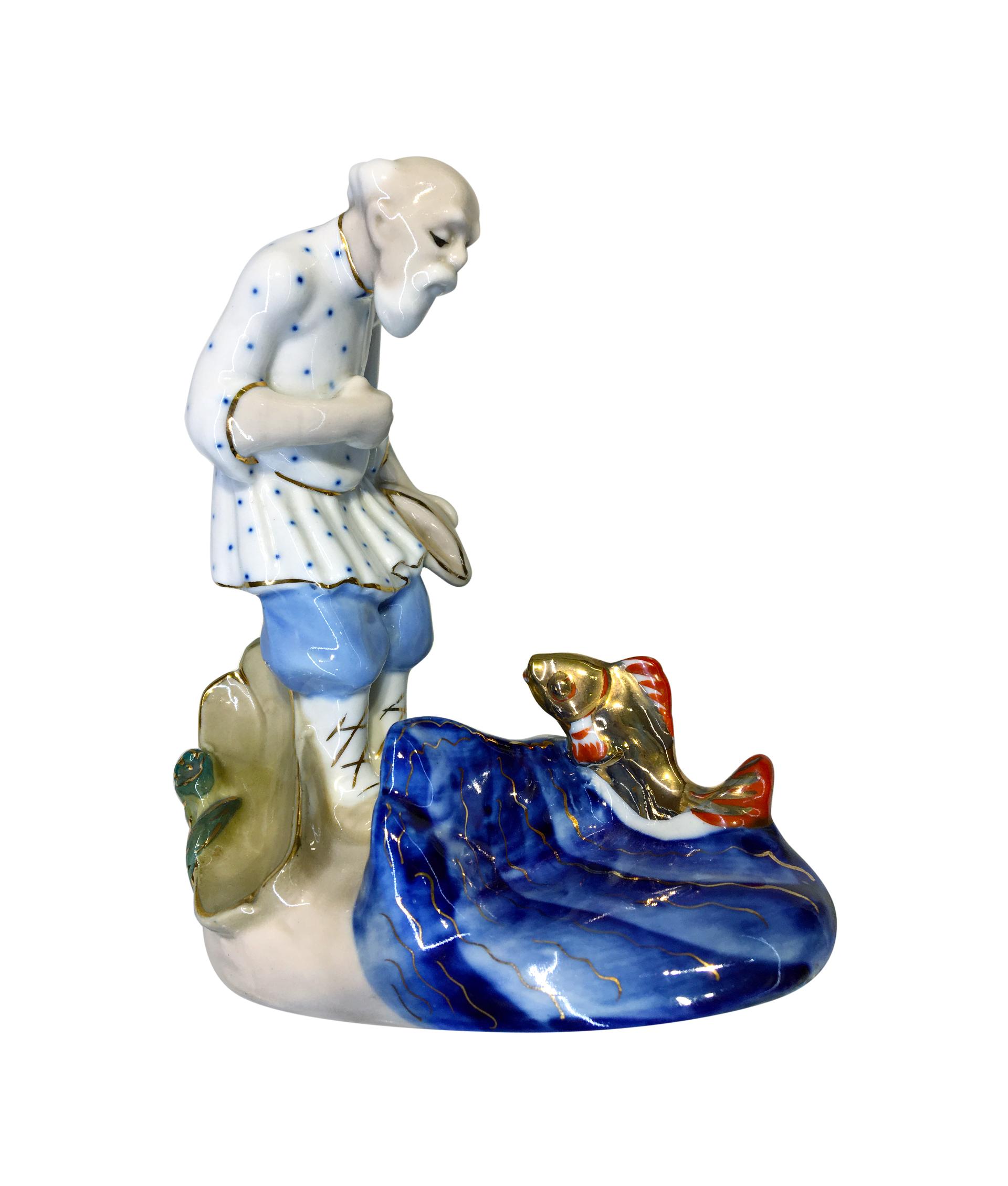 """Фигура """"Старик и золотая рыбка"""" 4743 - купить сегодня за ..."""